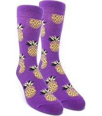 media violeta vilo anana