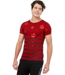 camiseta vinotinto manpotsherd ohana