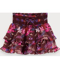 scotch & soda printed mini skirt