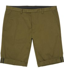 hugo by hugo boss dark green glen shorts 183f2-50387565-308