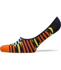 optic dot liner sock ankelstrumpor korta strumpor blå happy socks