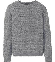maglione operato (grigio) - rainbow