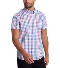 barbour men's tattersall check shirt