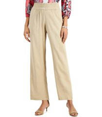 jm collection pull-on trousers, created for macy's