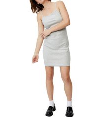 women's finn straight neck strappy mini dress