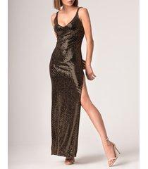 sukienka salma złota
