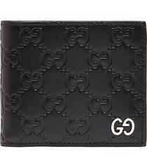 'dorian' logo embossed bifold wallet