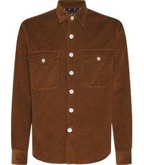 tommy hilfiger overhemd corduroy overshirt mw0mw15015/gwp