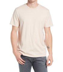 men's ag bryce crewneck t-shirt, size large - pink