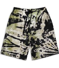 mvp collections by mo vaughn productions men's tie-dye drawstring shorts