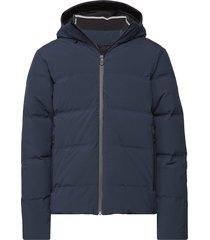 race down hood outerwear sport jackets blå sail racing