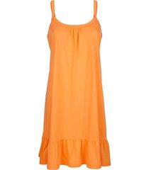 strandklänning maritim orange