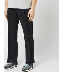 maison margiela men's track pants - black - l