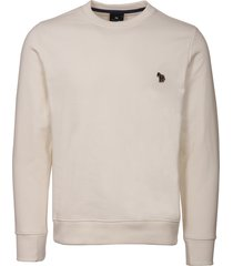 ps by paul smith zebra logo sweatshirt - cream m2r-027rz-b20075