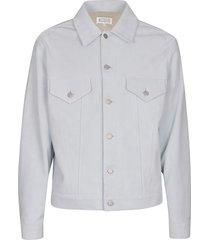 maison margiela double-pocket buttoned jacket