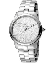 glam chic mohair stainless steel bracelet watch