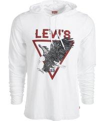 levi's men's eagle hoodie