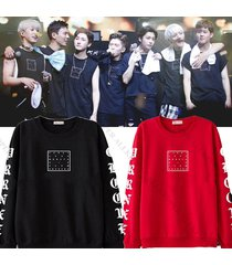 kpop monsta x jooheon sweater first live x clan origins hoodie shownu pullover
