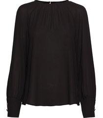 blouse long-sleeve blouse lange mouwen zwart taifun