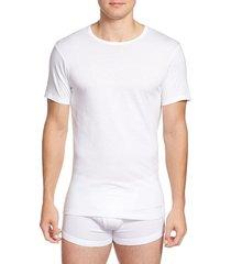 men's calvin klein slim fit 3-pack cotton t-shirt
