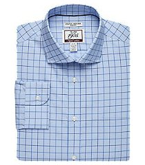 1905 collection slim fit cutaway collar check repreve® dress shirt, by jos. a. bank