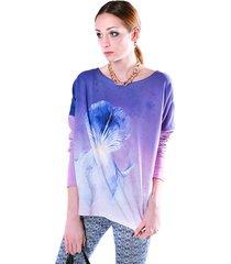bluza fio irys-fioletowy