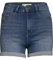 molly denim shorts shorts denim shorts blå gina tricot
