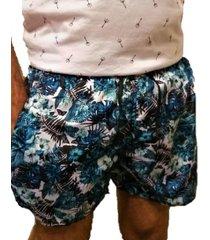 short de baño azul wintertex tropical