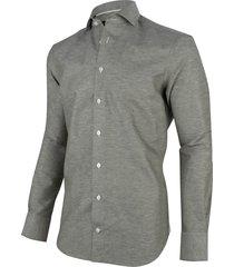 cavallaro cavallaro overhemd lino shirt linnen 1001051-50000 groen
