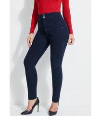 jeansy fason skinny z gorsetowymi wstawkami