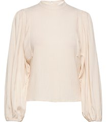 harriet blouse 11238 blouse lange mouwen wit samsøe samsøe