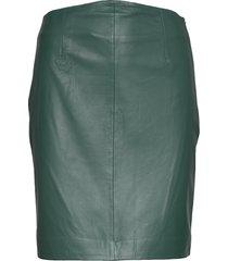 2nd electra knälång kjol grön 2ndday