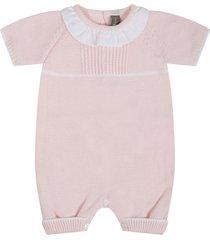 little bear pink romper for babygirl