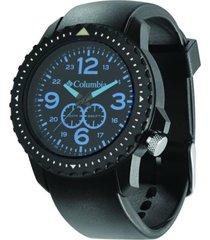 relógio columbia urbaneer preto/azul