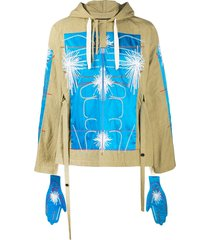 craig green embroidered pull over jacket