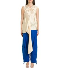 colville asymmetric top with draping