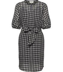 feng zip dress korte jurk zwart second female