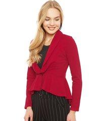 blazer nrg rojo - calce ajustado
