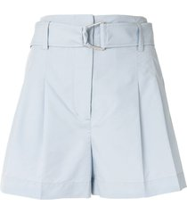 3.1 phillip lim belted utility shorts - blue