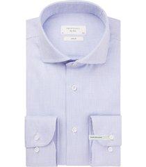 mouwlengte 7 overhemd profuomo blauw motief