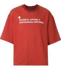 piet short sleeves sweatshirt - red