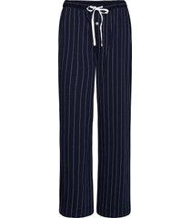 lrl separate long pants pyjamabroek joggingbroek blauw lauren ralph lauren homewear