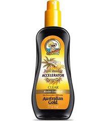 spray gel bronzeador australian gold dark tanning accelerator 237ml