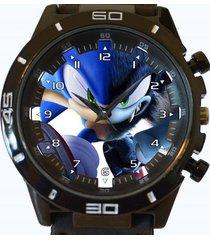 sonic hedgehog werewolf new gt series sports unisex watch