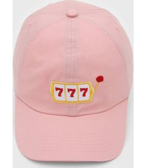 boné kanui dad cap 777 rosa - kanui