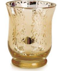 copo porta vela decoração natal 8 cm ouro