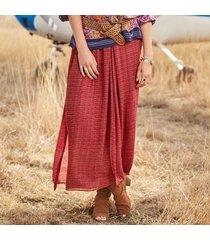 desert drift maxi skirt