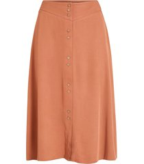 kjol vimorose hw button midi skirt