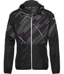 printed jacket outerwear sport jackets blå mizuno