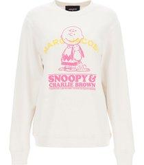 marc jacobs sweatshirt charlie brown & snoopy